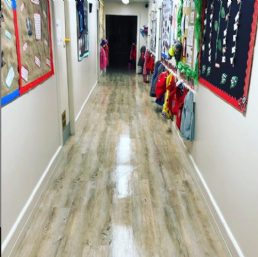 Westwood Nursery Floor Clean Performed By Our Commercial Director Daniel Gibson