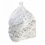 Clear Contractor Sacks - 200 Light duty Recycled Sacks