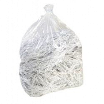 Clear Contractor Sacks - 100 Heavy duty Recycled Sacks