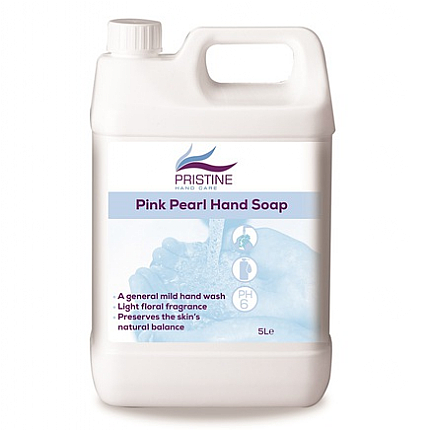 Pink Pearlised Soap - 5 Litres