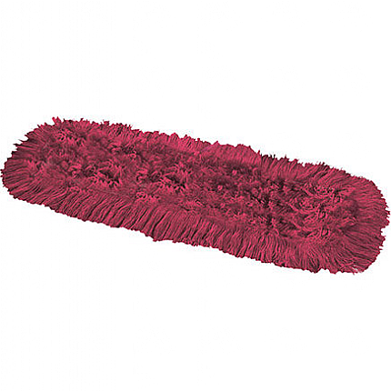 Synthetic Dual Dust Control Mop Head RED