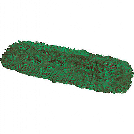 Synthetic Dual Dust Control Mop Head Green