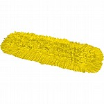 Synthetic Dual Dust Control Mop Head Yellow