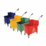 Bentley Mobile Mop Bucket With Wringer 20 Ltr